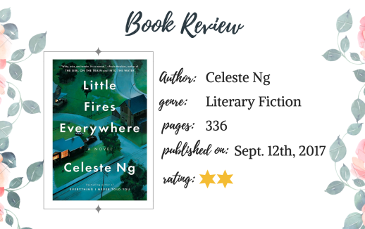 Book Review Little Fires Everywhere